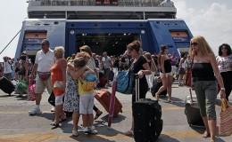 επιβάτες λιμάνια