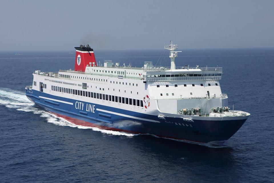 FERRY OSAKA II contribute Meimon Taiyo Ferry