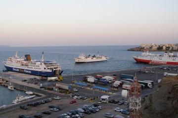 Ραφήνα Άνδρος λιμάνια