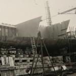 Η υπό κατασκευή πλώρη του Prince Laurent