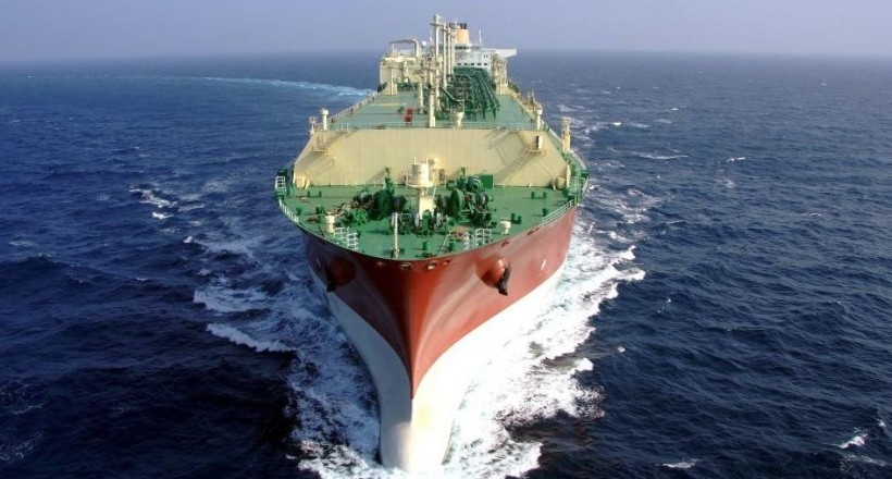 φυσικό αέριο, LNG, εμπορικά πλοία
