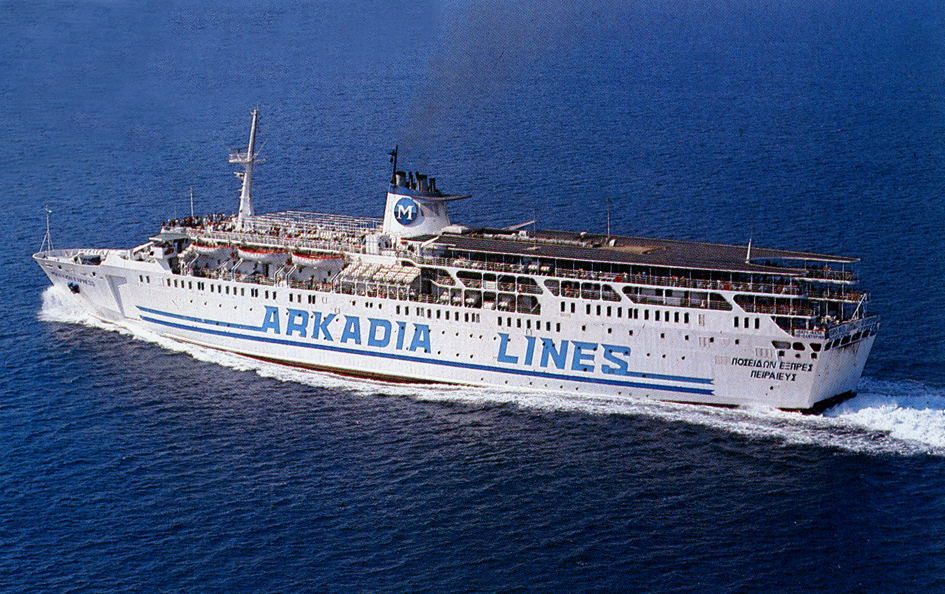 poseidon express arkadia lines