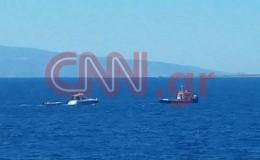 Σύγκρουση σκαφών ανοιχτά της Αίγινας