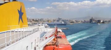 Ελληνική ακτοπλοΐα, μετακίνηση