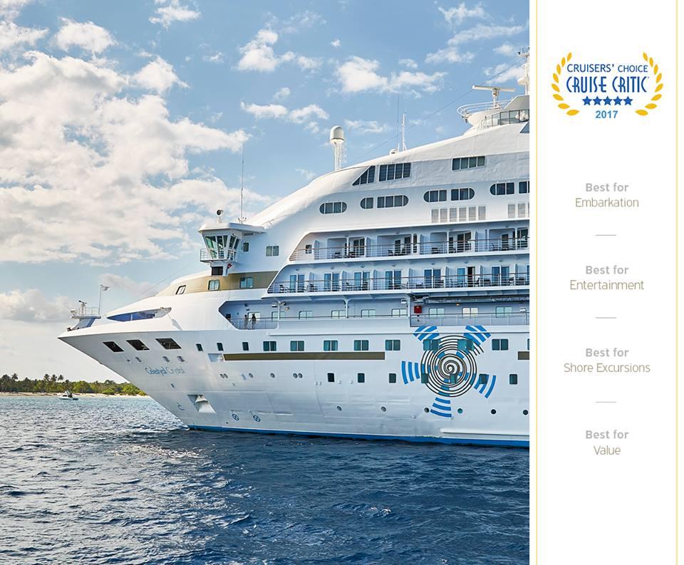 Celestyal Cruises- awards photo