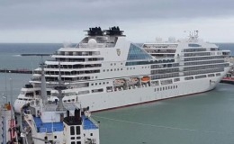 Seabourn Encore-collision