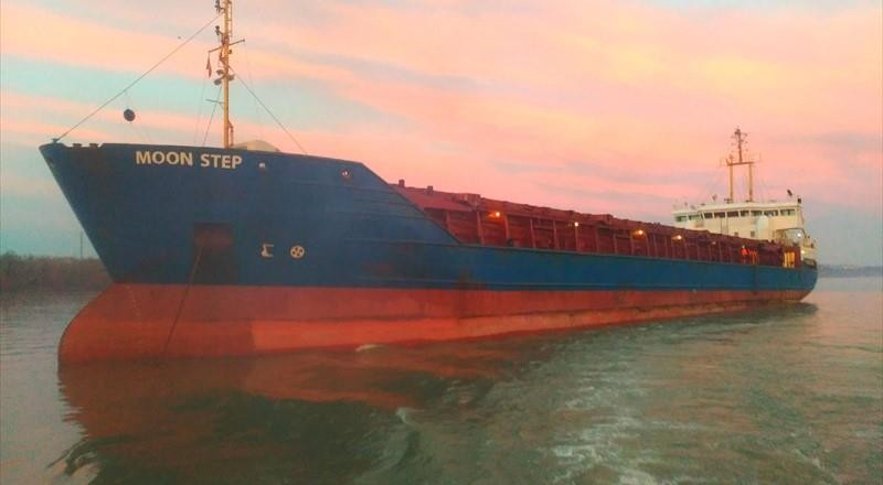 Mηχανική βλάβη σε φορτηγό πλοίο