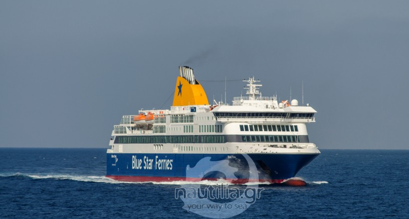 blue star Delos, Blue Star Ferries, δρομολόγια