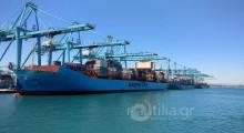 Algeciras port Ισπανία