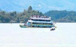 βύθιση πλοιαρίου στην Κολομβία