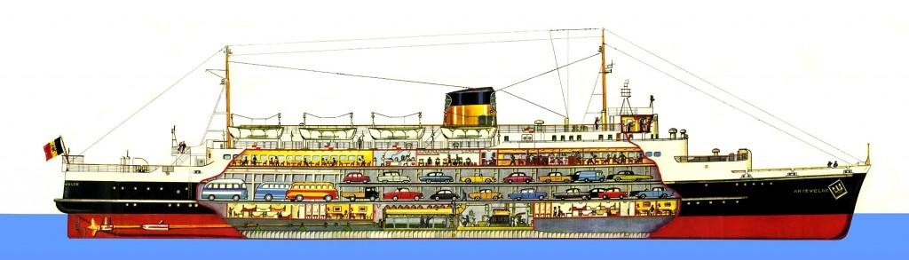 mv_artevelde_ferry_boat_cutaway militarynavalhistory.net