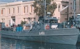 Πολεμικό ναυτικό ΠΑΤ Άραχθος προσάραξε