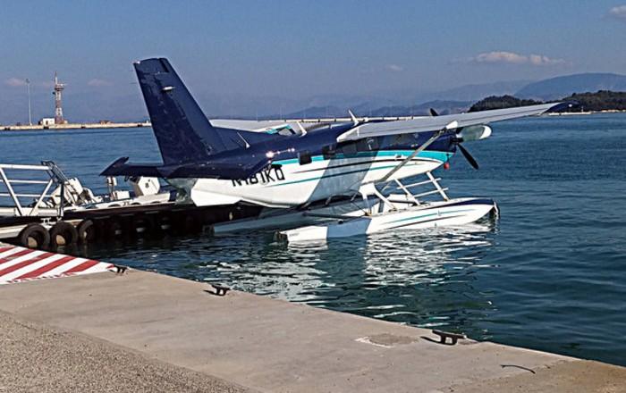 δοκιμαστικές πτήσεις των υδροπλάνων