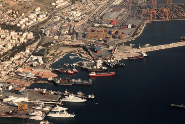 λιμάνι της Ελευσίνας