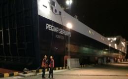 Regina Seaways, φωτιά