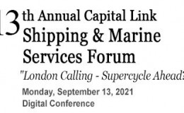 Capital Link 13th Annual Shipping & Marine Services Forum