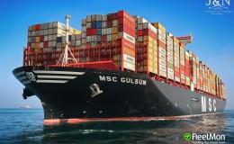 Containership, MSC Gulsun