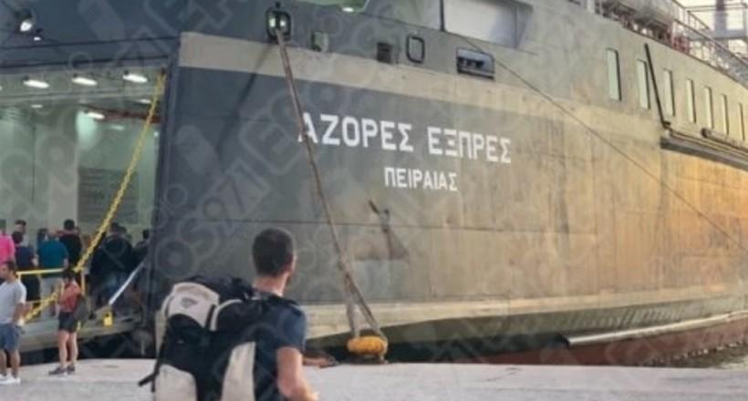 Azores Express, Αλεξανδρούπολη